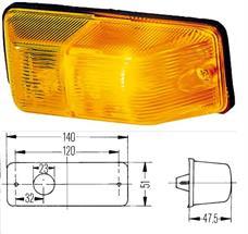 81252256459 - Irányjelző lámpa bal 215x215