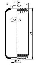 AB410PL - Légrugó gumielem (311.12.77) 215x215