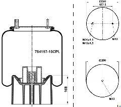 784157-10CPL - Légrugó 215x215