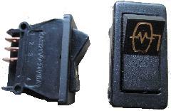 KA13211052 - Autókapcsoló 2 áll. 3 kiv. (tükörfűtés) 215x215