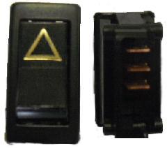 KA13211092 - Autókapcsoló 2 áll. 3 kiv. (vészvillogó) 215x215