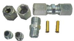 SM301200 - Fékcső 6 mm ö.kötő készlet+betéthüvely 215x215