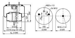 1DF25A2 - Légrugó első 215x215
