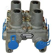 GMP9347022100H - Négykörös szelep 7 kivezetéses 215x215