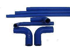 5055X215 - Szilikonos gumi könyök szűkítő 50/55/210X210 90° 215x215